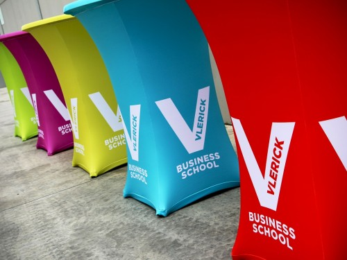 Table cover | Vlerick Business School