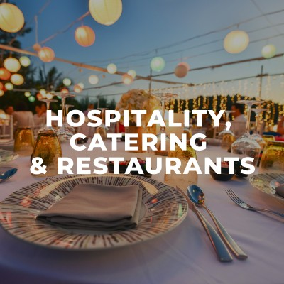 Partyspace hospitality catering restaurant